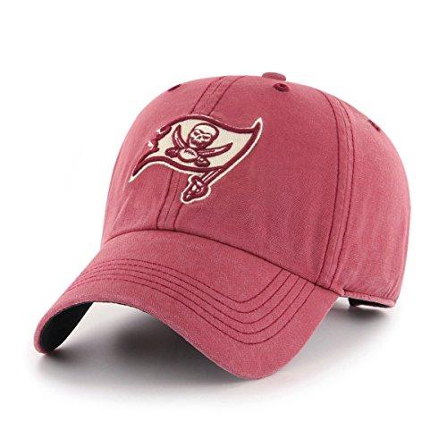 NFL Tampa Bay Buccaneers Deck Hand OTS Challenger Adjustable Hat, Red, One Size