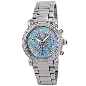"""JBW Women's JB-6210-G """"Victory"""" Diamond-Accented Stainless Steel Watch"""