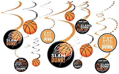 Guirnaldas de baloncesto vertical (x12): Amazon.es: Juguetes y juegos