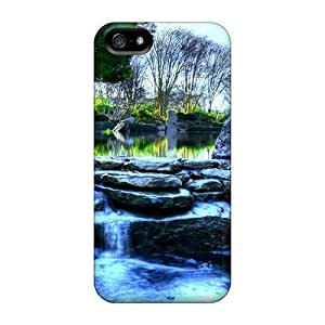 New Fashion Premium PC For SamSung Note 3 Phone Case Cover - Backyard Waterfall