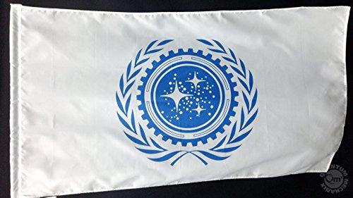 Star Trek United Federation of Planets Flag (Star Trek United Federation Of Planets Blue Flag)