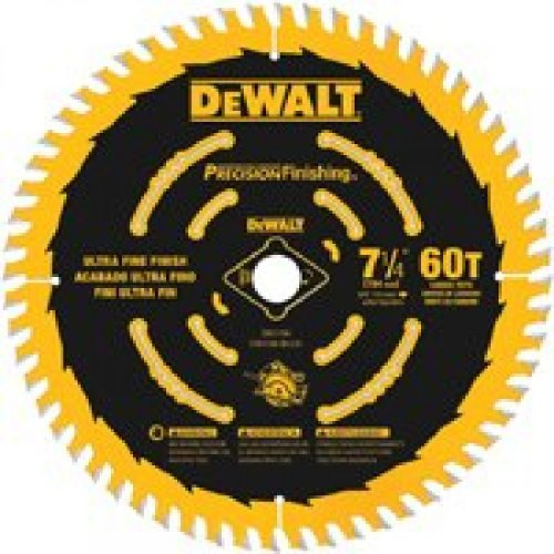 7-1/4 60T Bulk 10-Pack Precision Framing Saw Blade