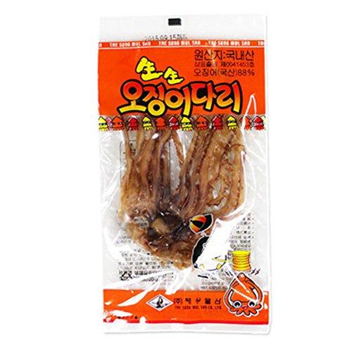 Fresh Squid Leg 0.704OZ x 20Set / Gift / Souvenir / Snack / Snack / Aji / Gift / Zip / ConveniencePurified Honey Butter Squid 1.06OZ x 10Set Sweet Squid