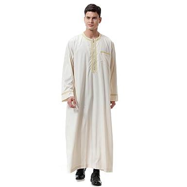 new product 23964 539bd Saudi-arabische Roben Herren Kaftan Kleidung Dubai Muslim ...