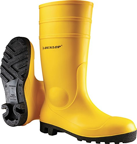 Dunlop Stivali in Pvc S5Giallo, Taglia 44