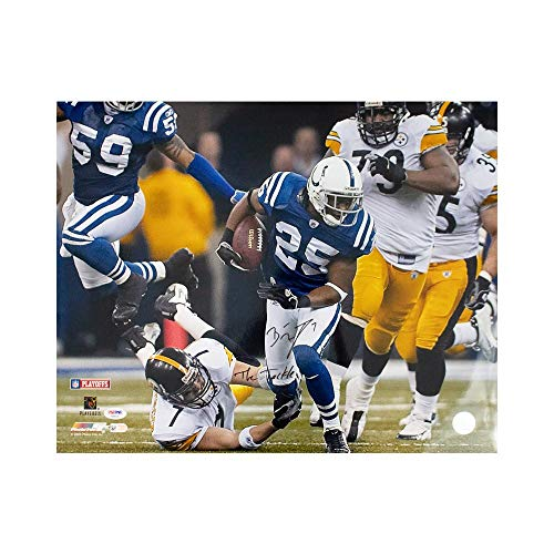 - Ben Roethlisberger The Tackle Autographed Steelers 16x20 Photo - PSA/DNA COA