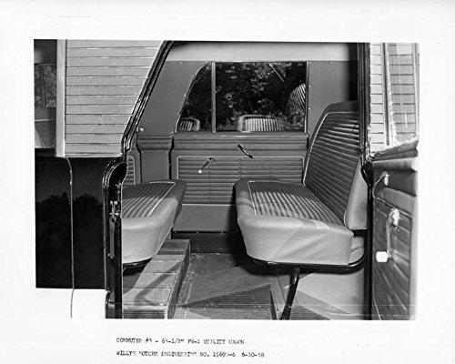 1958 Willys Overland Interior Prototype Automobile Photo Poster