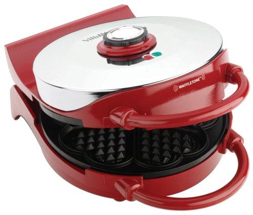 VillaWare V015-3100R-U00 Red Heart Waffler For Sale