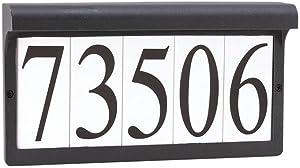 Sea Gull Lighting 9600-12 Low Voltage Address Light, Black Finish