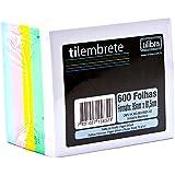 Bloco Tilembrete 92x82mm 600 Folhas 5 Cores,Tilibra - 1 un