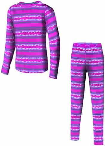 Papfar by Scandinavian Kidz Kids Thermal Jacquard Wool Bottoms-Leggings-Baselayer