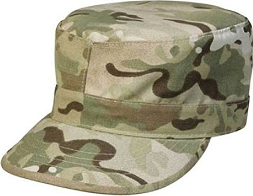 Camouflage Poly/Cotton Rip-Stop Army Ranger Fatigue Hat Cap ()
