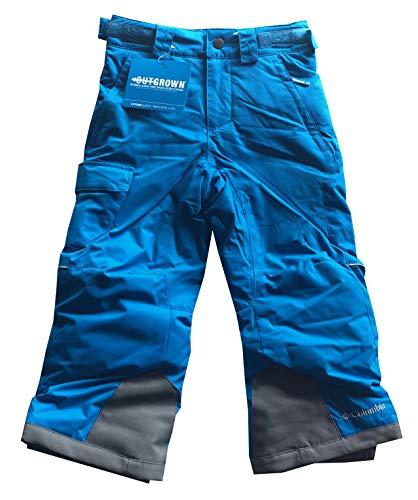 Columbia Youth Boys/Girls Arctic Trip II Insulated Omni-Heat Snow Ski Pants (M (10/12), Blue)