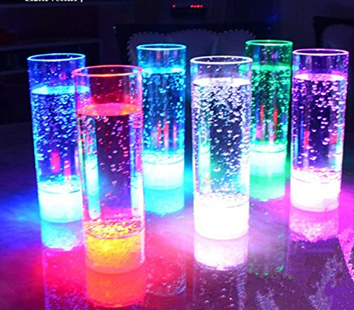 Miyare Colorful Flashing Bar Cup LED Luminous Cup Beer Cup High Brightness LED Colorful Light Cup Charged