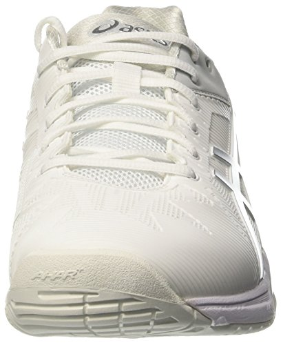 Chaussures Blanc Speed EU 3 Asics Blanc Gel Tennis Cassé 38 Femme Silver White Solution de wPfxIEfB