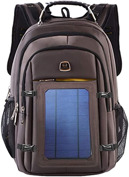 Advanced Solar Powered Backpack Anti Theft Laptop Bag