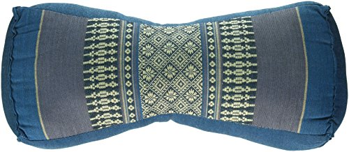 "My Zen Home Neck Pillow, 14"" by 4.50"" by 6"", Aqua"