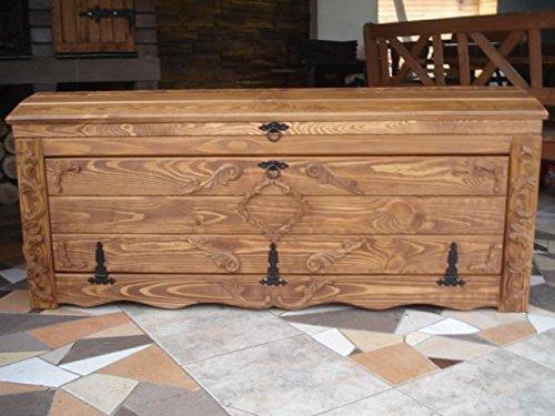 Amazon.de: Massive Handgemachte Holzkiste Truhe Box Holz Aufbewahrung Antik  Dekoration Wohnen Möbel