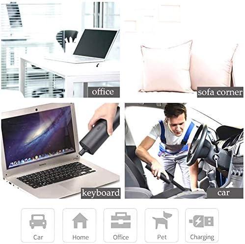 GzxLaY Mini aspirateur d\'ordinateur, aspirateur de Voiture Portable sans Fil, aspirateur de poussière Portable Rechargeable USB pour Voiture, Maison, Bureau, Poils d\'animaux