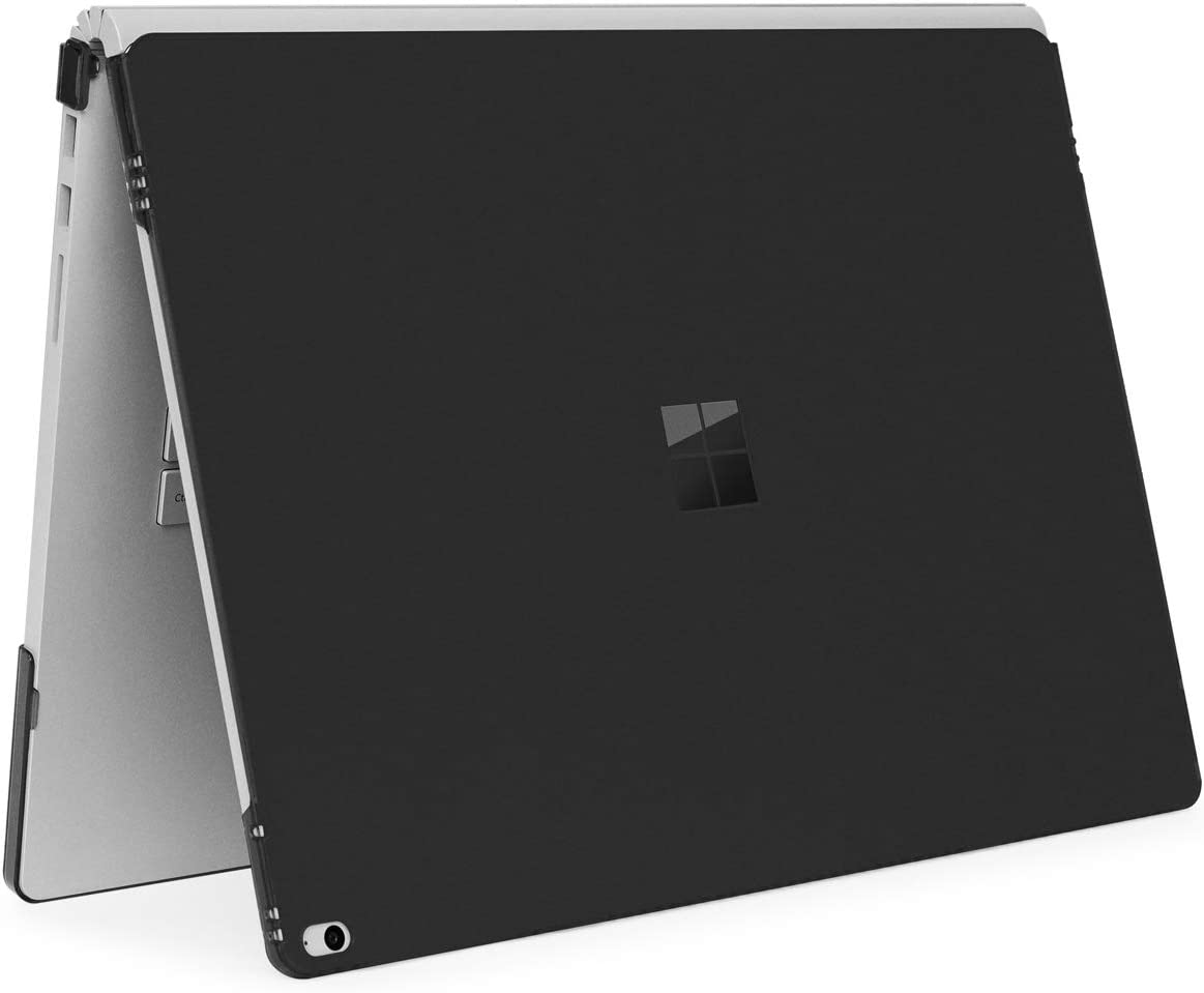 mCover Hard Shell Case for Microsoft Surface Book Computer 1 & 2 & 3 (15-inch Display, Black)