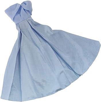 Kesoto Vetements De Poupees Elegante Robe Bleu Ciel Pour 30cm Poupees Amazon Fr Jeux Et Jouets