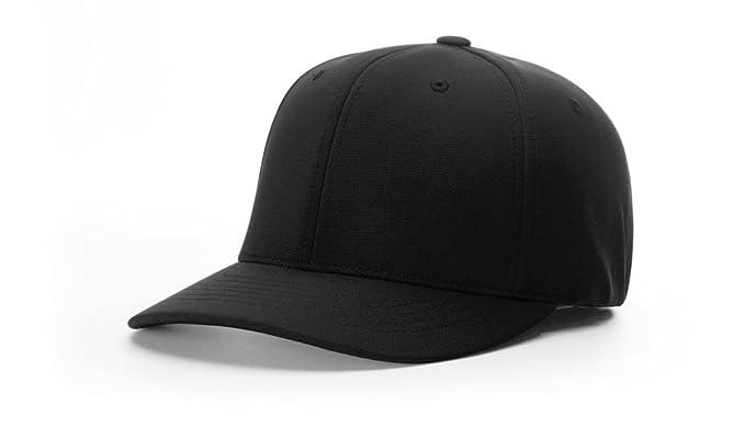 4a97680ca37e0 Richardson 653 UMPIRE PULSE R-FLEX BLANK BASEBALL SOFTBALL CAP FIT HAT at  Amazon Men s Clothing store