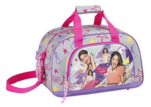 Violetta Disney Sporttasche 40x24x23 Schultasche Tasche Neon (40)