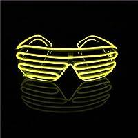 Lerway EL Leuchtbrille Party Club LED Brille für Masquerade,...