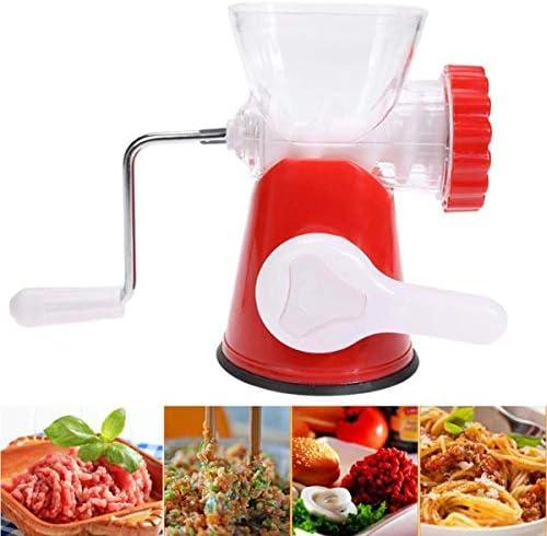 HAOT Tritacarne, Robot da Cucina Manuale per Cucina Domestica, per Tagliare e mescolare Carne e Verdure, Fare ripieni e condimenti per Alimenti per Bambini