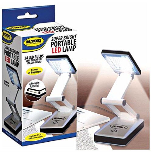 LED Super bright Portable Lamp USB Battery Travel Desk Computer Laptop Light by Unbranded*