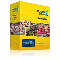 Rosetta Stone Portuguese (Brazil) Level 1-3 Set