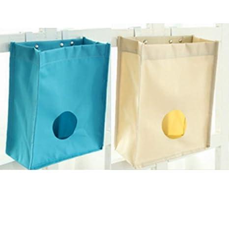 Soporte para bolsa de plástico y dispensador - Soporte de ...