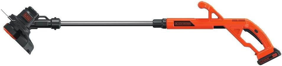 BLACK DECKER LST201 20V MAX Lithium Ion String Trimmer Edger, 10