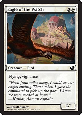 Magic: the Gathering - Eagle of the Watch (9/165) - Journey into ()