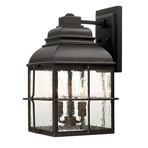 Capital Lighting 917831OB Three Wall Lantern - Capital Lighting Traditional Lantern