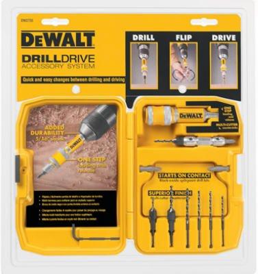 028877552071 - DEWALT DW2735P Drill Flip Drive Kit, 12-Piece carousel main 1