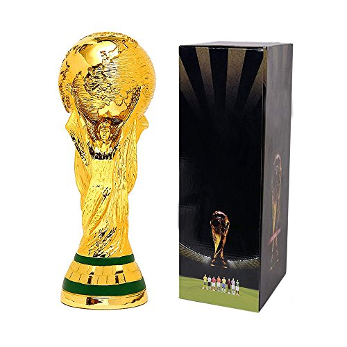 Tankership 2018 World Cup Trophy Replica Soccer Fans Souvenir with box - 5 Inch Tall
