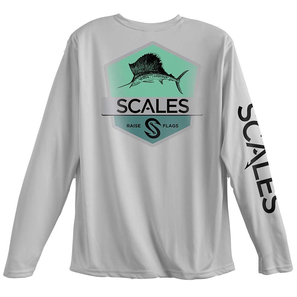 2ac8ada2 Amazon.com : Scales Gear Men's Scales Pro Performance Sailfish Badge ...