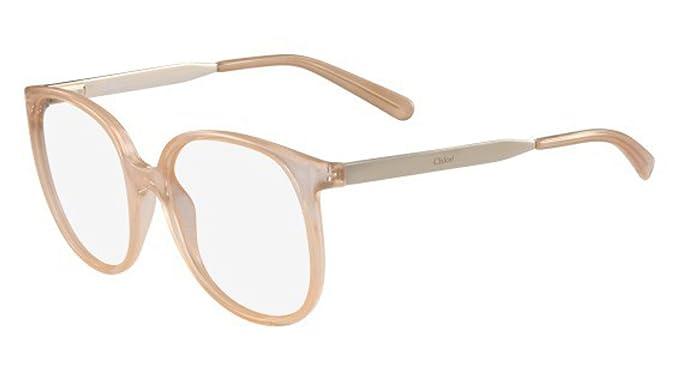 d8332472ba989 Eyeglasses CHLOE CE2696 749 PEACH at Amazon Men s Clothing store