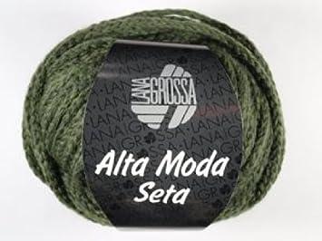 Lana Grossa Wolle Alta Moda Seta 008 Oliv: Amazon.de: Küche & Haushalt