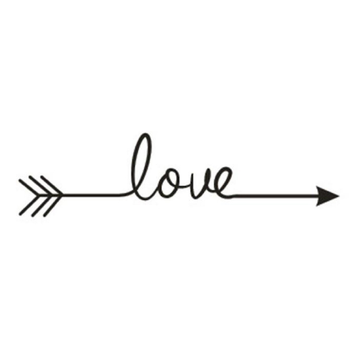 Naladoo Love Arrow Decal Living Room Bedroom Vinyl Carving Wall Decal Sticker IU32566436436
