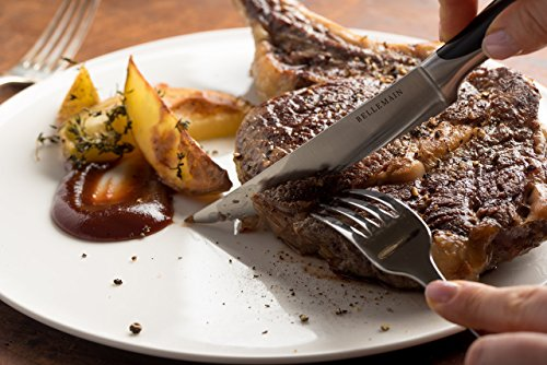Bellemain Premium Steak Knife Set of 4 Stainless Steel by Bellemain (Image #2)
