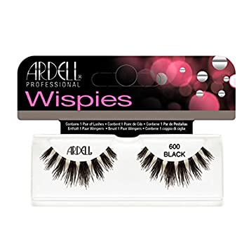 6d35a3e38bc Amazon.com : (3 Pack) ARDELL Cluster Wispies 600 Black : Beauty