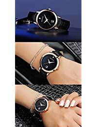 Amazon.com: 30mm to 34mm - Leather / Wrist Watches / Watches: Clothing, Shoes & Jewelry