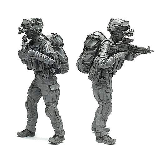 1/35 アメリカ陸軍 特殊部隊 兵士 M249 パラマシンガン NVGスケールモデル