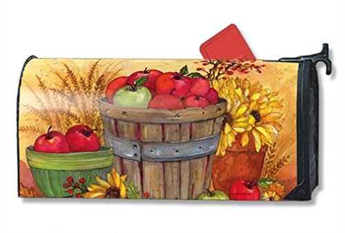 MailWraps Bushel of Apples Mailbox Cover #01219 by MailWraps