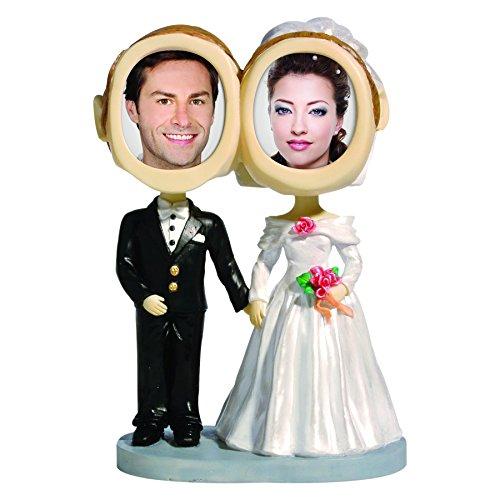 Wedding Bobble Head - Neil Enterprises, Inc Wedding Couple Photo Bobble Head