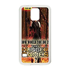 Unique Design -ZE-MIN PHONE CASE For Samsung Galaxy S5 -The Hunger Games Wallpaper Pattern 20