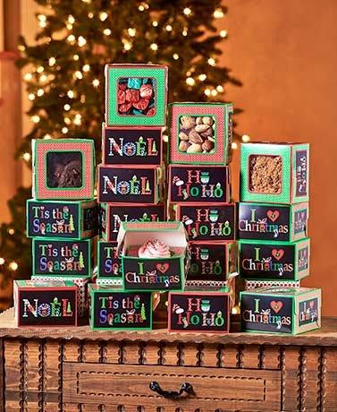 Holiday Treat Box Sets Set of 20 Small (Holiday Treat Boxes)
