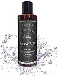 Best Natural & Organic Face and Body Cream for Men. Anti-Aging, Sun Exposure & Perfect Aftershave Cream. Vitamins B5, Vitamin E & Wheat Proteins – Sulfate & Parabens Free 6.7 fl oz